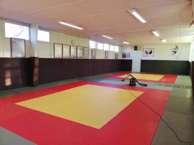 Nettoyage/Désinfection des TATIMIS du Dojo Judo