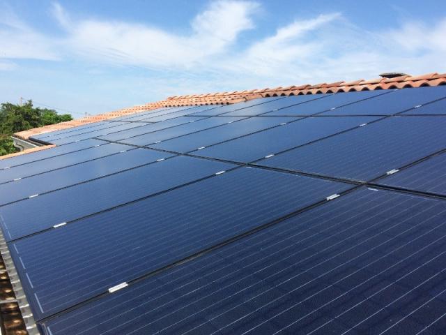 Nettoyage toiture photovoltaïque